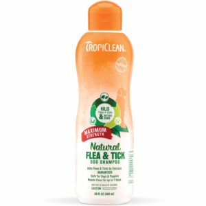Tropiclean Flea and Tick Shampoo
